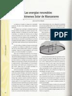 Chimenea Solar de Manzanares