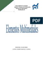 ELEMENTOS MULTIMEDIALES
