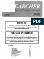 Peace Researcher Vol2 Issue10 Sept 1996
