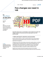 Public Sector HR_ Terry Moran on Changes Needed