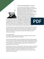 Aportes de Gregor Mendel a La Ciencia