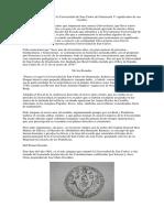 Fragmentos Históricos de La Universidad de San Carlos de Guatemala Y Significados de Sus Escudos