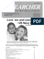 Peace Researcher Vol2 Issue19-20 NovDec 1999