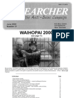 Peace Researcher Vol2 Issue21 June 2000