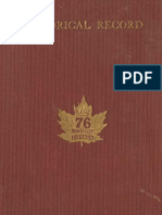 (1920) Historical Record of the 76th Overseas Battalion of the Canadian Expeditionary Force, 1915-1916