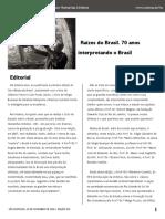 Revista Raizes Do Brasil
