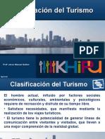 Clasificacion Del Producto Turisco