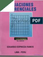 Eduardo Espinoza - Ecuaciones Diferenciales - Solucionario - Ed5