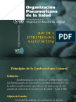 Epidemiologia en la salud ocupacional