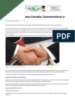 Sociedad Anónima Cerrada_ Características y Beneficios