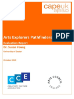 Arts Explorers Pathfinders Evaluation Report FINAL