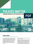 Policies Matter