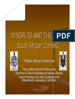 Mdr Xdr Tb and The  Law Who