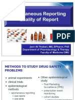 01 - Spontaneous Reporting Quality of the Report