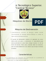 Máquina de Electroerosión