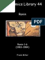 The Comics Library 44 - Ronin (1983-1984).pdf