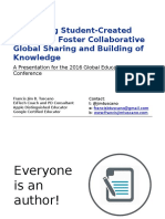Publishing Student-Created eBooks to Foster Collaborative Global Sharing and Building of Knowledge