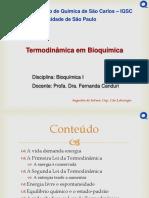 Termodinamica Em Bioquimica Profa Fernanda