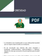 OBESIDAD Adulto Mayor