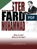 Master Fard Muhammad