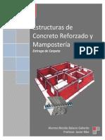 Carpeta Estructuras de Concreto Reforzado y Mamposteria