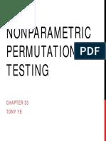 Nonparametric Permutation