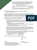 Surat Pemberitahuan Ukom Nakes Periode Maret 2016