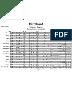 Weather Report - Birdland for Trumpet Ensemble V.Valerio.pdf