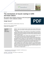 The Mechanisms of Muscle Wasting in COPD
