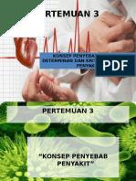 Kul 3 Konsep Penyebab Penyakit, Determinan Dan Kriteria Penyebab Penyakit