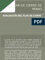 Evaluación Plan de Cierre de Minas-2