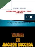 CLASE 10 B-Estabilidad de Taludes ROCAS