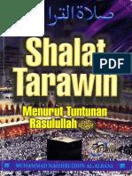Shalat Tarawih Menurut Tuntunan Rasulullah