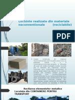 Locuinte Realizate Din Materiale Neconventionale (Reciclabile)