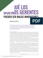 04 Díaz Por Qué Los Buenos Gerentes Debates IESA XX 4 Quién Lleva Las Riendas de La Innovación Oct Dic 2015