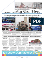 The Daily Tar Heel for Jan. 23, 2017