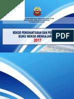 Kulit Buku Rekod Penghantaran Dan Pengambilan BRM 2017