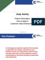 Amp Sentry Presentation 2