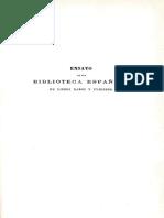Ensayo de Una Biblioteca Espanola de Libros Raros y Curiosos Tomo 2 0