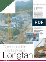 Construccion Presa Longtan - CCR