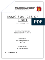 Basic Sources of Light