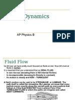 AP_Physics_B_-_Fluid_Dynamics.ppt