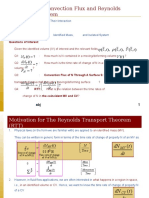 2103-351 - 2009 - Lecture Slide 5.0 - Convection Flux and Reynolds Transport Theorem (RTT).ppt
