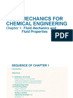 AE 233  (Chapter 1) Fluid Mechanics for Chemical Engineering.ppt