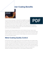 Fluoropolymer Coating Benefits