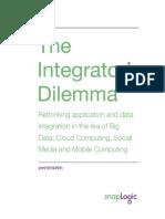 SnapLogic Whitepaper - The Integrator's Dilemma Whitepaper