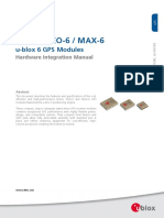 Uart Gps Neo 6m (b)_lea 6 Neo 6 Max 6 Hardware Integration Manual