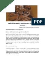 Lectio Divina. Parábolas de La Misericordia. Domingo XXIV T. Ordinario. Ciclo C. 5 de Septiembre de 2016