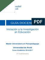 201639 Iniciación a La Investigación 16 17