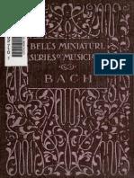 Bell's Miniature Series of Musicians - Bach